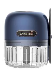 Deerma Wireless Electric Garlic Mixer, JS100, Blue