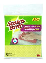Scotch Brite Sponge Cloth Ultra, 5 Pieces