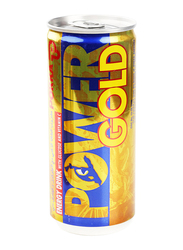 Pokka Power Gold Non Carbonated Energy Drink Can, 3 Cans x 240ml