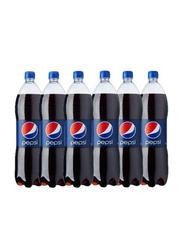 Pepsi Regular Soft Drink Bottle, 6 x 1.5 Litres