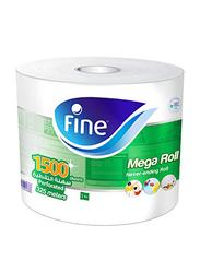 Fine Mega Roll Paper Towel, 325 Meters, 1500 Sheets x 2 Ply