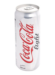 Coca Cola Light Drink, 6 Canx 330ml