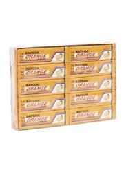 Batook Orange Chewing Gum, 20 x 12.5g