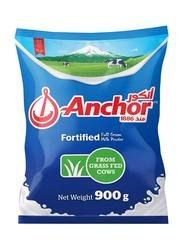 Anchor Full Cream Milk Powder Pouch, 900g
