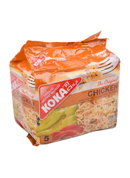 Koka Chicken Noodles, 5 Packs x 85g