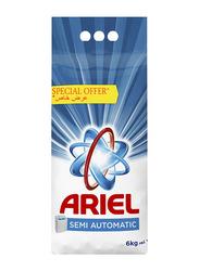 Ariel Blue Semi Automatic Detergent Powder, 6 Kg