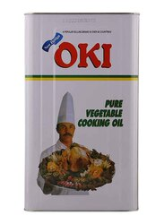 Oki Pure Vegetable Cooking Oil, 18 Liters