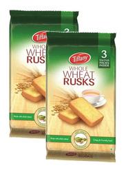 Tiffany Cardamom Whole Wheat Rusk, 2 x 335g