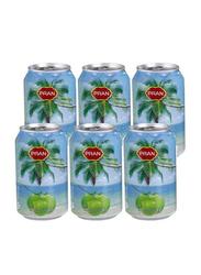 Pran Coconut Water Can, 6 x 300ml