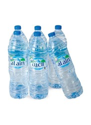 Al Ain Water Bottle, 6 x 1.5 Litres