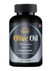 Cipzer Olive Oil Dietary Supplement, 1000mg, 60 Softgel Capsules