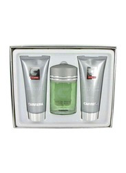 Carrera 3-Piece Pour Homme Gift Set for Men, 100ml EDT, 150ml Aftershave Balm, 150ml Shower Gel