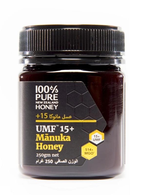 100% Pure New Zealand Honey MGO 514+ UMF 15+ Manuka Honey, 250g