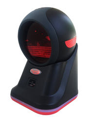 Pegasus PS3316 2D QR Omni Presentation Hand Free Barcode Scanner, Black