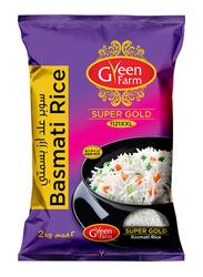 Green Farm Super Gold Basmati Rice, 2 Kg
