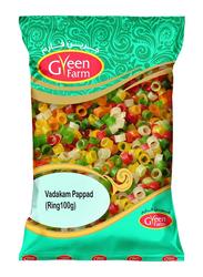 Green Farm Ring Vadakam Pappad, 100g