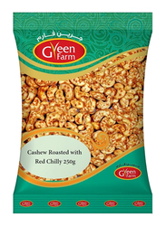 Green Farm Roasted Cashew with Red Chilly, 250g
