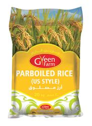 Green Farm Parboiled Thailand Rice, 20 Kg