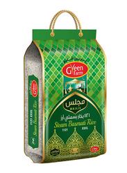 Green Farm Majlis 1121 XXXL Steam Basmati Rice, 5 Kg