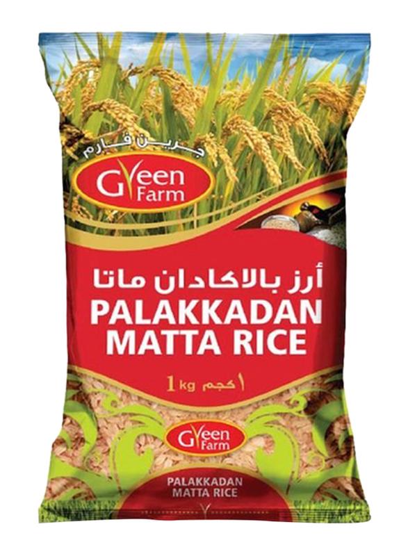 Green Farm Palakkadan Matta Rice, 1 Kg