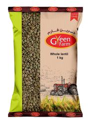 Green Farm Green Lentil, 1 Kg