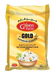 Green Farm Gold 1121 Steam Basmati Rice XXXL, 10 Kg