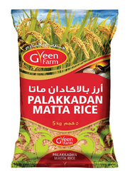 Green Farm Palakkadan Matta Rice, 5 Kg