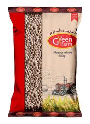Green Farm Masoor Whole, 500g