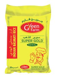 Green Farm Super Gold 1121 Steam Basmati Rice XXXL, 20 Kg