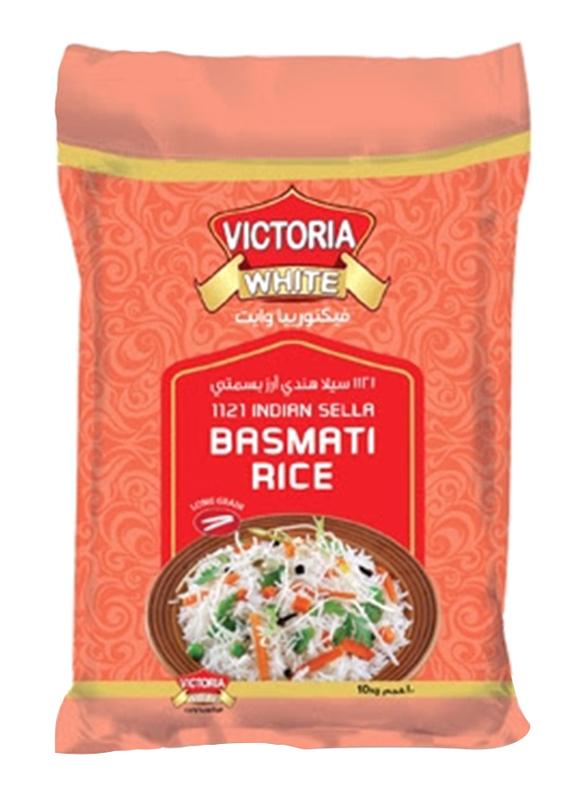 Victoria White 1121 Indian Sella XXXL Basmati Rice, 10 Kg