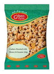 Green Farm Roasted Cashew with Honey & Sesame, 250g