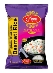 Green Farm Super Gold Basmati Rice, 5 Kg