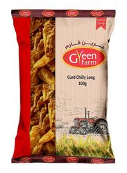 Green Farm Curd Chilly Long, 100g