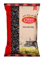 Green Farm Black Raisins, 250g