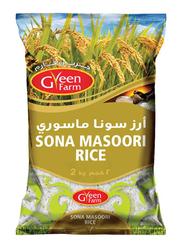 Green Farm Sona Masoori Rice, 2 Kg