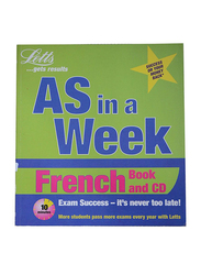 As in a Week French Book with CD, Paperback Book