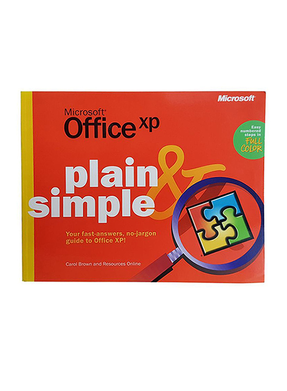 Microsoft Office XP, Paperback Book, By: Carol Brown & Resources Online