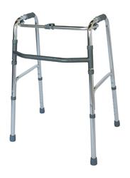 Media6 Foldable Walker, 3010SL, Silver/Grey