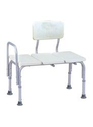 Media6 3-Seat Bath Bench, 799L, White/Grey
