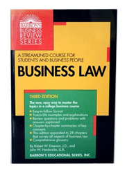 Business Law Third Edition, Paperback Book, By: Robert W. Emerson and John W. Hardwicke, LL.B