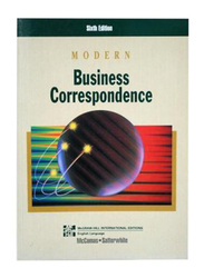 Modern Business Correspondence Sixth Edition, Paperback Book, By: Donna C. McComas and Marilyn L. Satterwhite