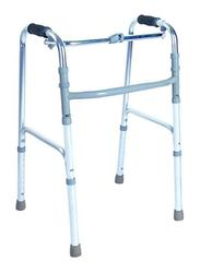 Media6 Adjustable Medical Walker, 3010, Silver