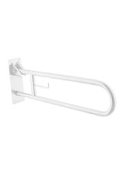 Media6 12-inch Grab Bar, White