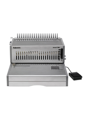 Fellowes Orion E-500 Commercial Electric Comb Binding Machine, Silver