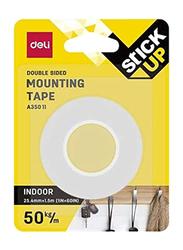 Deli EA35201 Mounting Tape, White