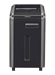 Fellowes Powershred 225Mi Commercial Micro Cut Shredder, Black/Dark Silver