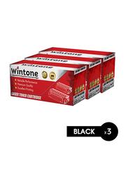 Wintone Samsung MLT D104 Black Laser Toner Cartridge, 3 Pieces