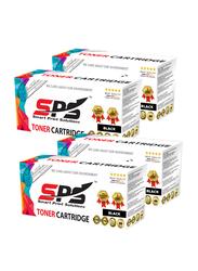 Smart Print Solutions Samsung MLT-D109 Black Laser Toner Cartridge Set, 4 Pieces