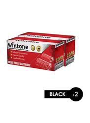 Wintone Samsung ML1710U Black Laser Toner Cartridge, 2 Pieces