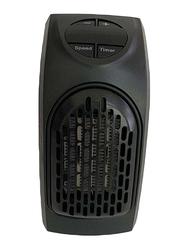 Portable Electric Mini Room Heater, 400W, JK226502, Black